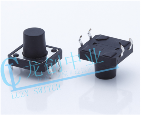 TACT SWITCH 180° DIP