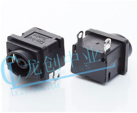 DC POWER JACK 90° DIP pin∅1.4mm