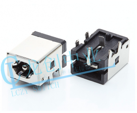 DC POWER JACK 90° DIP pin∅1.65mm