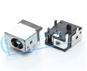 DC POWER JACK 90° DIP pin∅2.0mm