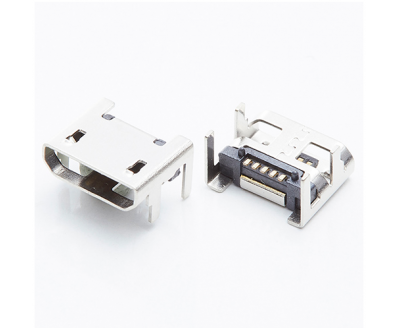 USB B TYPE 5P Female Conn 90°
